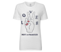 Loose Fit T-Shirt mit Print