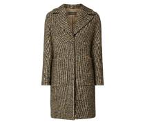 Mantel mit Woll- und Alpaka-Anteil