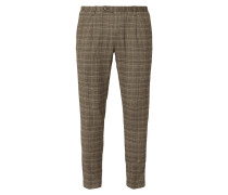 Anzug-Hose mit Glencheck