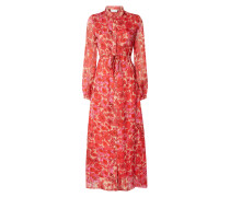 Blusenkleid aus recyceltem Polyester Modell 'Frida'