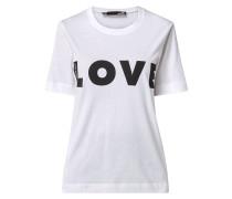 T-Shirt mit 1/2-Arm