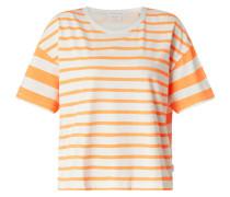 Shirt aus Baumwolle mit Streifenmuster
