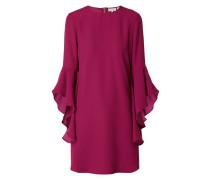 Kleid mit asymmetrischen Volantärmeln