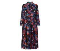 PLUS SIZE Blusenkleid mit floralem Muster