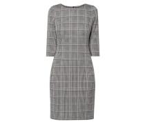 Kleid mit Glencheck-Dessin