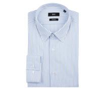 Regular Fit Business-Hemd aus Baumwolle Modell 'Eliott'