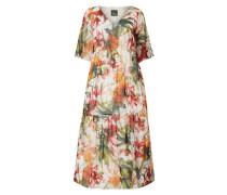 PLUS SIZE - Kleid mit Volantärmeln