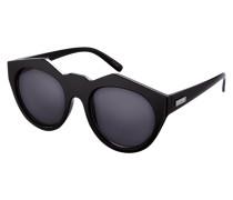 Vollrand Sonnenbrille in runder Form