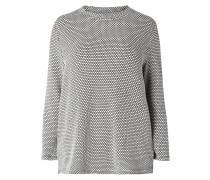 PLUS SIZE - Pullover mit Wabenstruktur