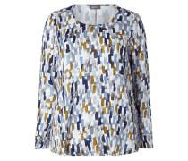 PLUS SIZE - Blusenshirt mit künstlerischem Muster