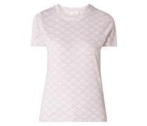 T-Shirt mit floralem Muster