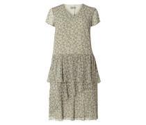 PLUS SIZE - Kleid mit Volants im Stufen-Look