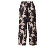 Easy Pants aus Viskose mit floralem Muster