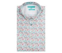 Regular Fit Freizeithemd aus reiner Baumwolle Modell 'Colin'