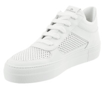 Plateau-Sneaker aus Nubukleder
