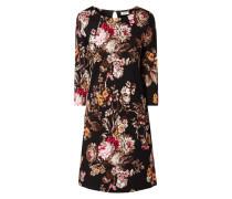 Jerseykleid mit floralem Muster