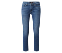 Slim Fit Jeans mit Stickereien Modell 'Roxanne'