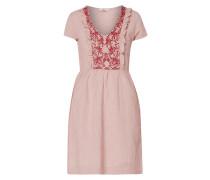 Kleid aus Baumwoll-Leinen-Mix