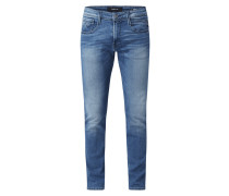 Slim Fit Jeans mit Stretch-Anteil Modell 'Anbass'