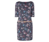 Kleid mit floralen Prints
