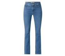 Shaping Bootcut Jeans mit Stretch-Anteil