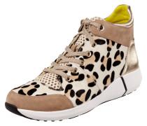 High Top Sneaker aus Veloursleder