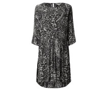 Kleid aus Viskose mit Trompetenärmeln
