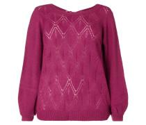 PLUS SIZE - Pullover mit Schnürung