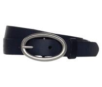 Ledergürtel mit ovaler Dornschließe