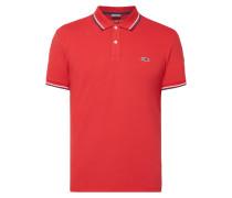 Slim Fit Poloshirt mit Stretch-Anteil