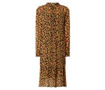 Blusenkleid aus Krepp Modell 'Annabelle'