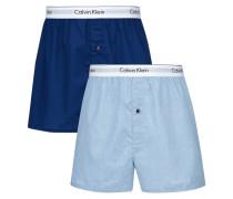 Slim Fit Boxershorts im 2er-Pack