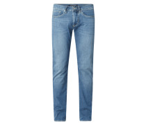 Slim Fit Jeans mit Stretch-Anteil Modell 'Antibes'