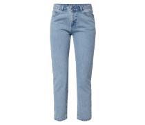 High Waist Jeans im Destroyed Look