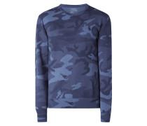 Sweatshirt mit Camouflage-Muster