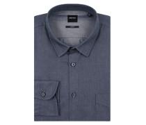 Slim Fit Freizeithemd aus Chambray Modell 'Magneton'
