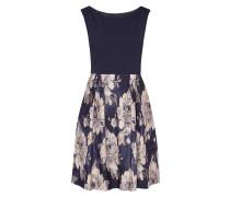 Kleid mit Rockteil aus Brokat