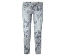 Slim Fit Jeans mit Mustermix
