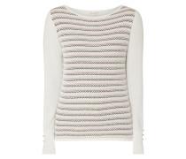 Pullover mit Wabenstruktur