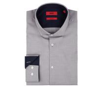 Extra Slim Fit Business-Hemd mit Haifischkragen