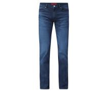 Slim Fit Jeans mit Stretch-Anteil Modell 'Hugo'