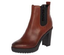 Chelsea Boots mit Blockabsatz