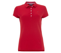 Slim Fit Poloshirt mit Stretch-Anteil