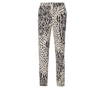 Easy Pants mit Animal-Print