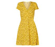 9a898a8a43ff03 Kleid mit floralem Muster. mbyM