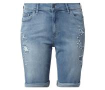 PLUS SIZE - Jeansshorts mit Zierperlen