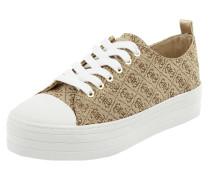 Plateau-Sneaker mit Logo-Muster Modell 'Brigs'
