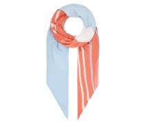 Tuch aus Modal mit Logo-Muster