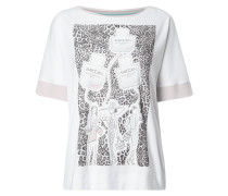 Shirt mit großem Logo-Print
