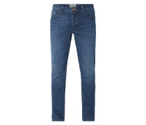 Stone Washed Regular Fit Jeans